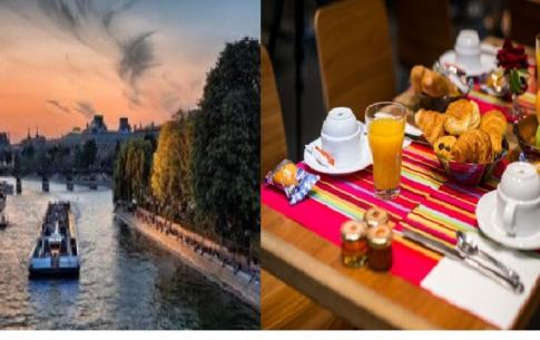 Art Hotel Eiffel - Petit déjeuner et croisière sur la Seine offerts