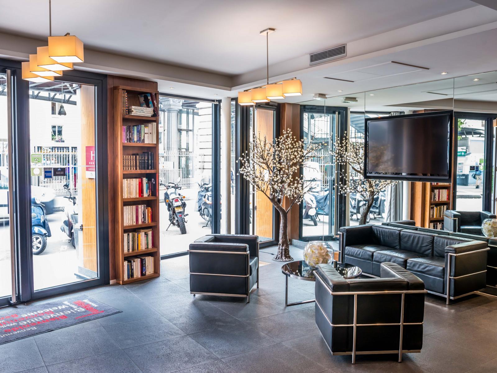 art hotel eiffel official site la motte picquet. Black Bedroom Furniture Sets. Home Design Ideas