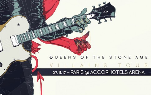 Art'n'Events - Queens of  The Stone Age en concert le 07/11/2017