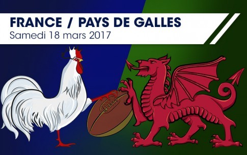 Sports - Dont' miss the game ! France Vs Wales Saturday 18th March 2017 at Stade de France